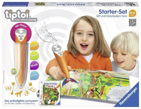 tiptoi® Starter-Set Bilderlexikon Tiere -