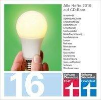 test und Finanztest Archiv CD-Rom 2016 -