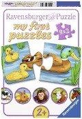 Liebenswerte Tiere. My first Puzzle -
