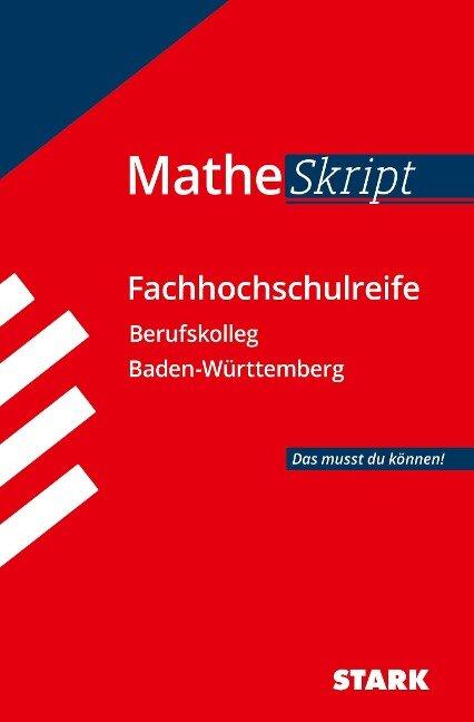 STARK MatheSkript Berufskolleg - BaWü. Baden-Württemberg -