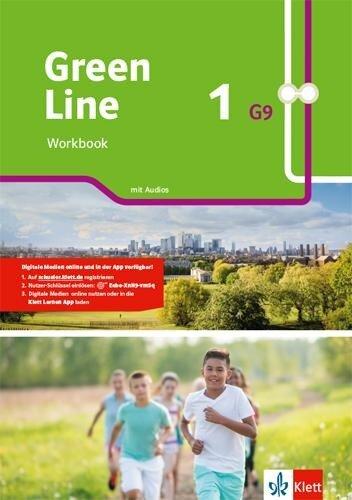 Green Line 1 G9. Workbook mit Audios Klasse 5 -