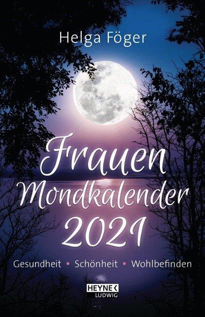 Frauen Mondkalender 2021 Taschenkalender - Helga Föger