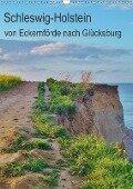 Schleswig-Holstein - von Eckernförde nach Glücksburg (Wandkalender 2018 DIN A3 hoch) - Andrea Janke