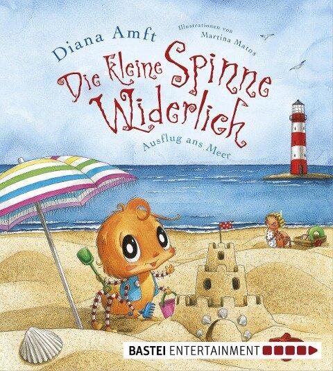 Die kleine Spinne Widerlich - Ausflug ans Meer - Diana Amft