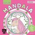 Mal mit! Mandala - Pferde -