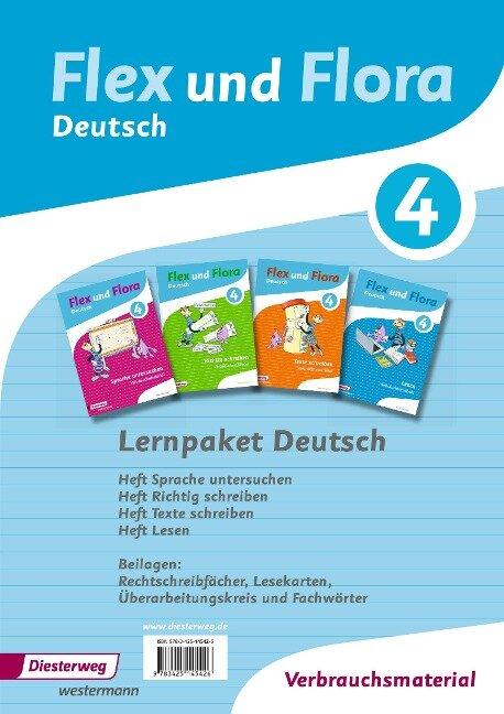 Flex und Flora 4. Paket Deutsch -