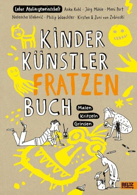 Kinder Künstler Fratzenbuch -