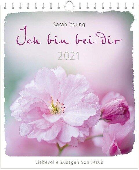Ich bin bei dir 2021 - Postkartenkalender - Sarah Young