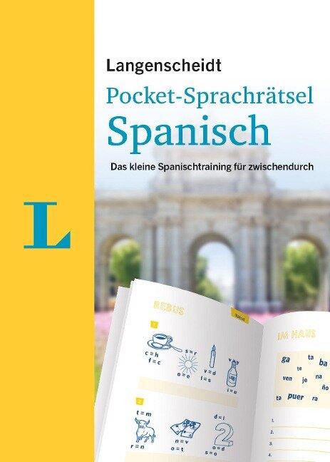 Langenscheidt Pocket-Sprachrätsel Spanisch -