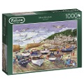 Mousehole, Cornwall - 1000 Teile Puzzle -