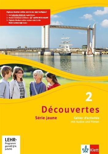 Découvertes Série jaune 2. Cahier d'activités mit MP3-CD und Video-DVD -