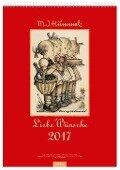 Liebe Wünsche 2017. Hummel Wandkalender -