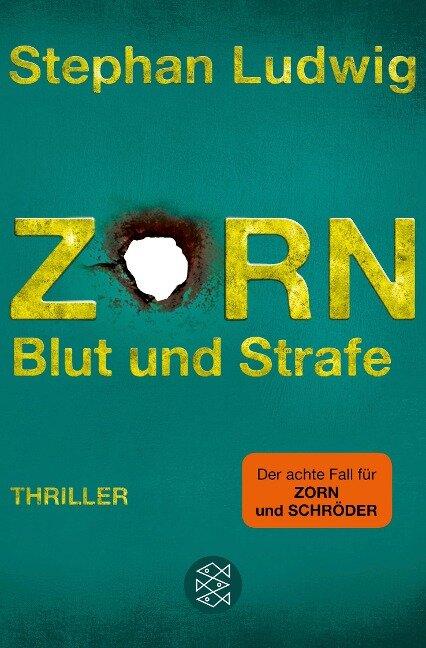 Zorn 8 - Blut und Strafe - Stephan Ludwig
