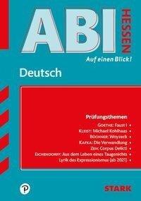 STARK Abi - auf einen Blick! Deutsch Hessen 2020/2021 -