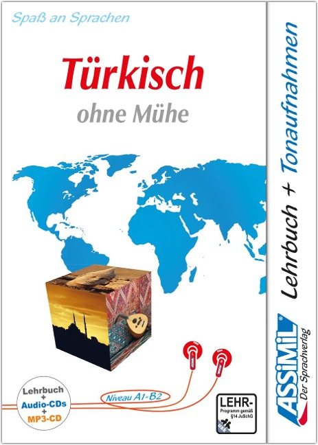 ASSiMiL Türkisch ohne Mühe. Lehrbuch, 4 Audio-CDs, 1 mp3-CD -