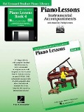 Piano Lessons Book 4 - GM Disk: Hal Leonard Student Piano Library - Richard Burns