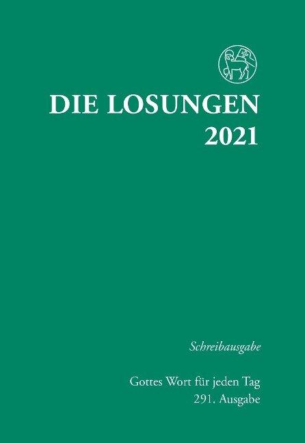 Die Losungen für Deutschland 2021 - Schreibausgabe -