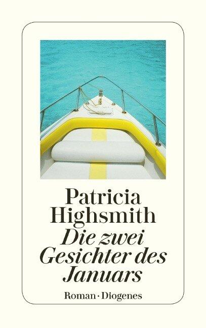 Die zwei Gesichter des Januars - Patricia Highsmith