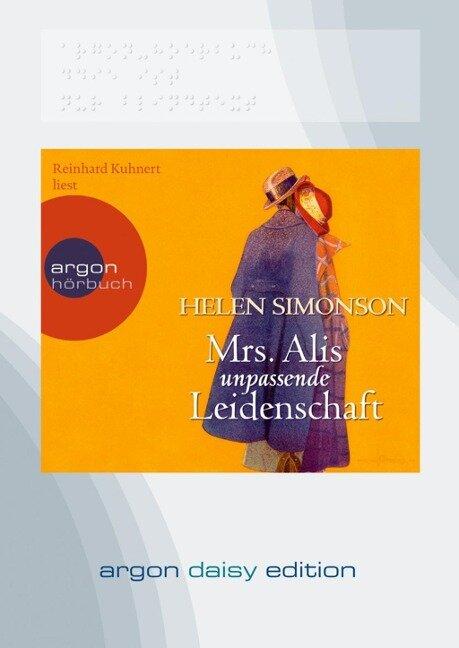 Mrs. Alis unpassende Leidenschaft (DAISY Edition) - Helen Simonson