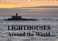 Lighthouses Around the World (Wall Calendar 2018 DIN A3 Landscape) - Sharon Poole