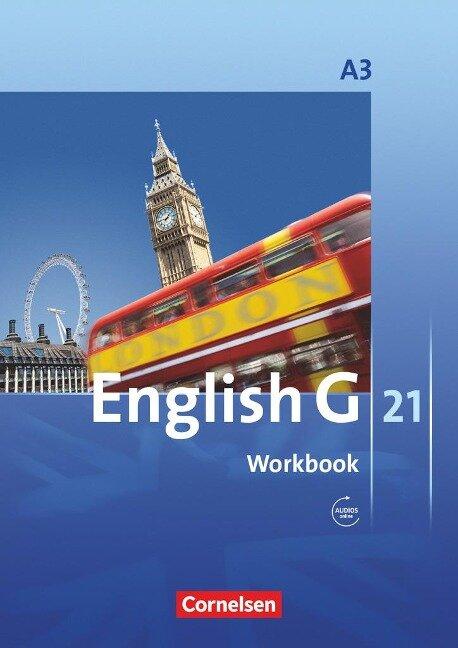 English G 21. Ausgabe A 3. Workbook mit CD -