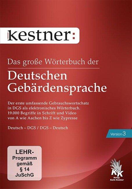 Das große Wörterbuch der Deutschen Gebärdensprache 3 -