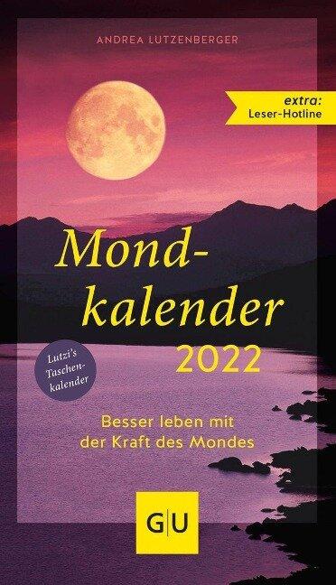 Mondkalender 2022 - Andrea Lutzenberger