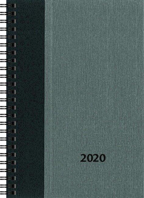 rido Buchkalender 2020 Timing 1 BusinessClass grau -