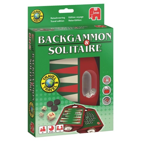 Travel Backgammon & Solitaire -
