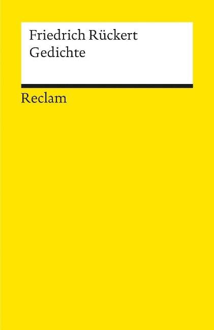 Gedichte - Friedrich Rückert