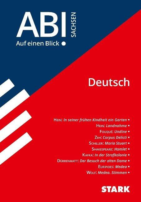 STARK Abi - auf einen Blick! Deutsch Sachsen -
