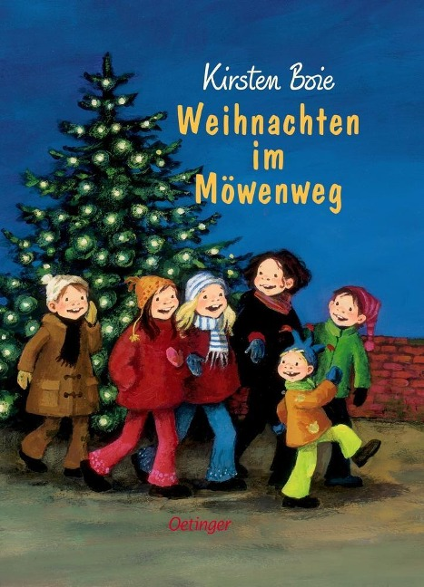 Weihnachten im Möwenweg - Kirsten Boie
