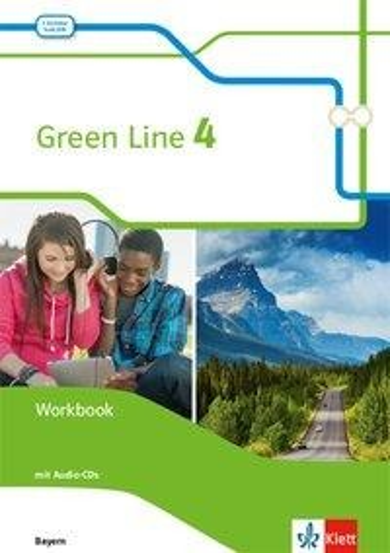 Green Line 4. Ausgabe Bayern. Workbook mit Audio-CD 8. Klasse -