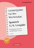 Lernaufgaben für den Wochenplan - Spanisch: 3./4. Lernjahr - Eva Keiber