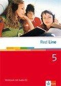 Red Line 5. Workbook mit Audio-CD -