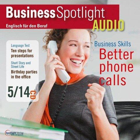 Business-Englisch lernen Audio - Besser Telefonieren - Business Spotlight Redaktion, Spotlight Verlag