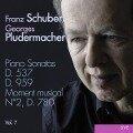 Klaviersonaten D.537 & 959 Vol.7 - Georges Pludermacher
