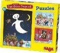 Das kleine Gespenst. 3 x 24 Teile Puzzle -