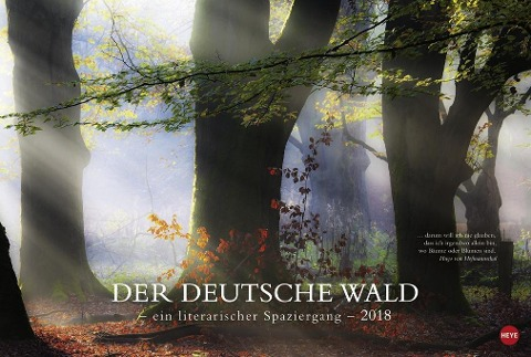 Der deutsche Wald - Ein literarischer Spaziergang 2018