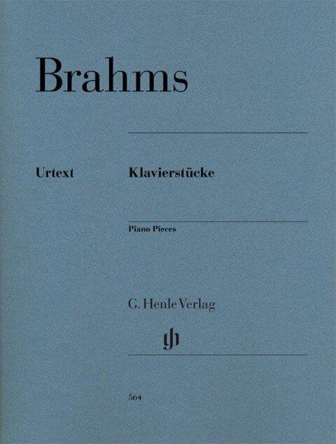 Klavierstücke - Johannes Brahms