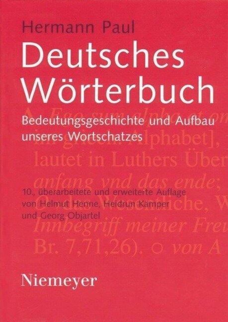 Deutsches Wörterbuch - Hermann Paul