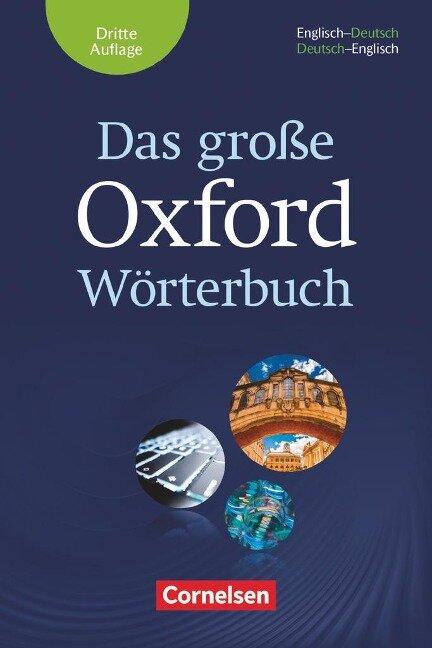 Das große Oxford Wörterbuch -