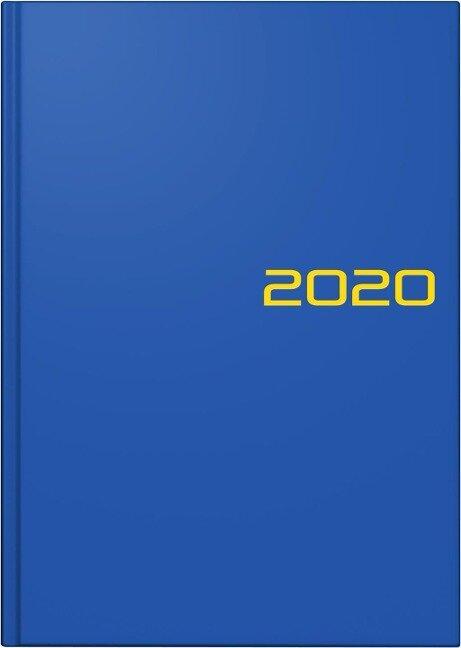 Brunnen Buchkalender 2019, Modell 795 A5 blau -