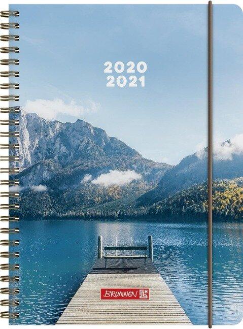 BRUNNEN 1072150181 Wochenkalender/Schülerkalender 2020/2021 Steg -