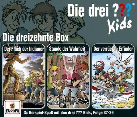 Die drei ??? Kids 3er Box 13 (Folgen 37, 38, 39) -