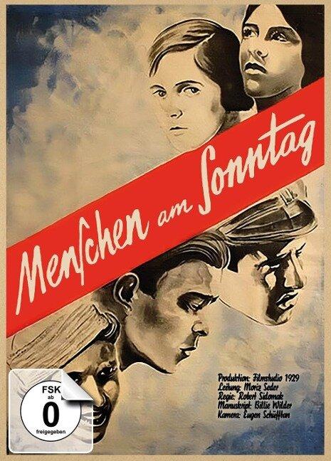 Menschen am Sonntag - limitiertes Mediabook, restaurierte Fassung (DVD + Blu-ray) -