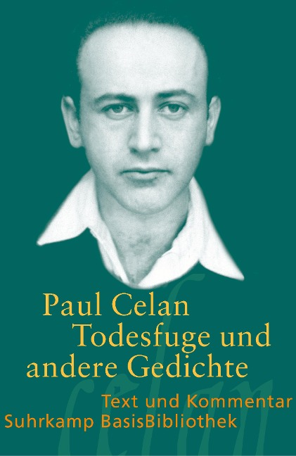 Todesfuge und andere Gedichte - Paul Celan