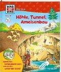 WAS IST WAS Junior Band 21. Höhle, Tunnel, Ameisenbau - Heike Herrmann, Christina Braun
