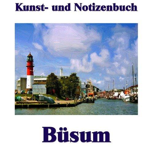 Kunst- und Notizenbuch Büsum - Pierre Sens