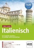First Class Italienisch. Paket: 4 CD-ROMs + Audio-CD -